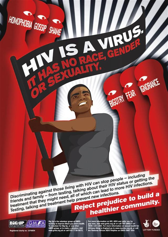 Stigma - HIV Is A Virus