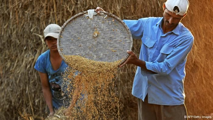 India recently launched what is arguably one of the largest food programs in the world. © AFP/Getty Images