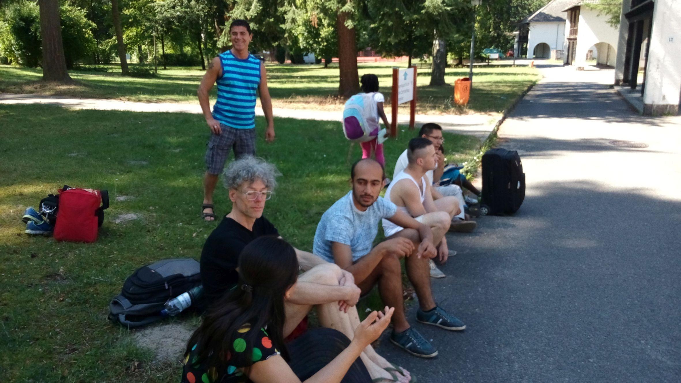 mit der Bekam-Gruppe am Werbellinsee, 07.-09. August 2015
