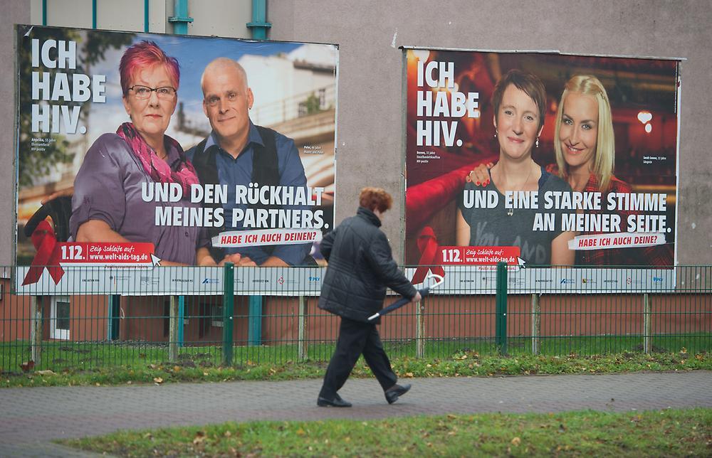 """""""Ein einziges Plakat kann Leben retten"""", sagt Pete - sie weiß, wovon sie redet. (Foto: picture alliance / dpa)"""